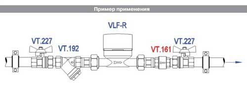 Обратный клапан установка
