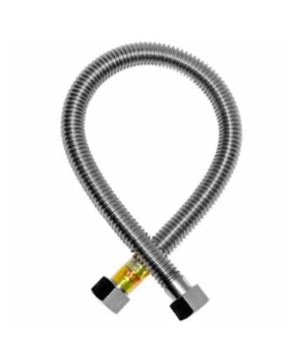 Гибкая подводка для газа 1/2 гайка-гайка 1,2 м