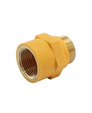 Диэлектрическая муфта для газа 3/4 (наружная/внутренняя).