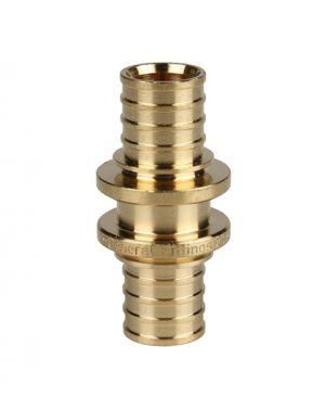 Купить муфта соединительная 20 мм для PEX трубы STOUT можно в Магазине труб pprcshop.ru по отличной цене с доставкой или самовывозом
