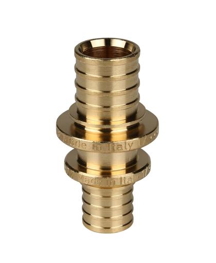 Купить муфта переходная 20×16 для PEX трубы STOUT можно в Магазине труб pprcshop.ru по отличной цене с доставкой или самовывозом