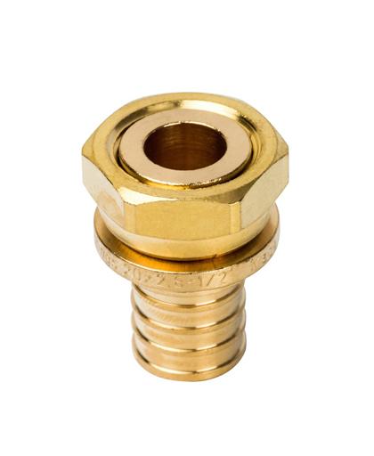 Купить Переходник 20xG 1/2″ с накидной гайкой для PEX трубы STOUT можно в магазине pprcshop.ru по отличной цене, доставка, самовывоз