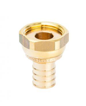 """Купить Переходник 25xG 1"""" с накидной гайкой для PEX трубы STOUT можно в магазине pprcshop.ru по отличной цене, доставка, самовывоз"""