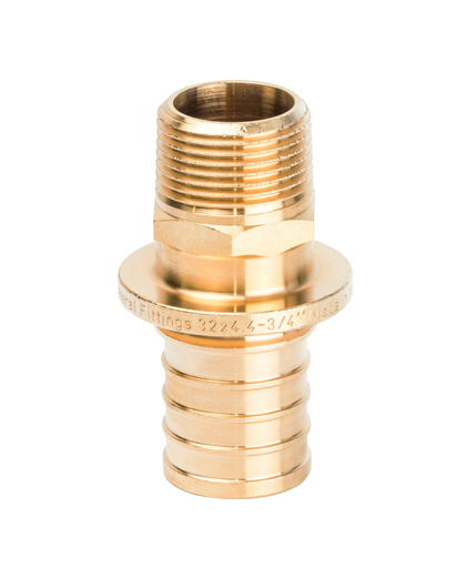Купить переходник 32xG 3/4″ наружная резьба для PEX трубы STOUT можно в магазине pprcshop.ru по отличной цене с доставкой или самовывозом