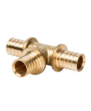 Купить тройник 32x32x32 для PEX трубы равнопроходный STOUT можно в интернет магазине pprcshop.ru по отличной цене, доставка, самовывоз