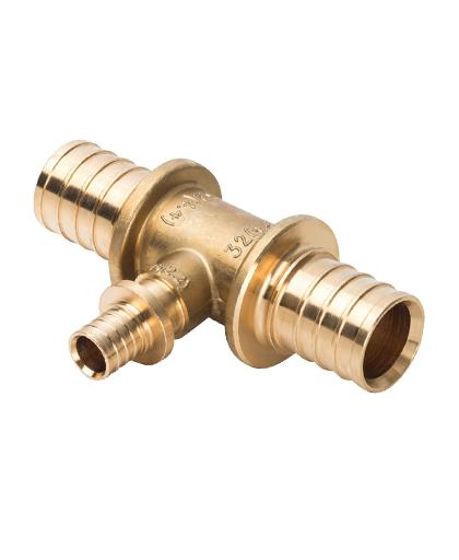 Купить тройник переходной 32x16x32 для PEX трубы STOUT можно в интернет магазине pprcshop.ru по отличной цене, доставка, самовывоз
