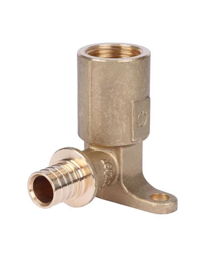 Угольник с угольник настенный 20-Rp 1/2″ с длинным нарезным патрубком для PEX трубы можно в интернет магазине pprcshop.ru по отличной цене