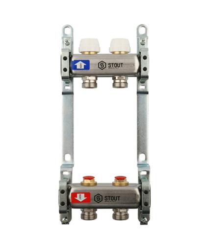 Купить Коллектор 1″х3/4″x2 без расходомеров (2 выхода, нержавеющая сталь) можно в интернет магазине pprcshop.ru по отличной цене