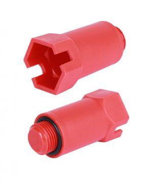 Купить Пробка длинная 1/2, красная PEX трубы STOUT (красная) можно в интернет магазине pprcshop.ru по отличной цене, доставка, самовывоз
