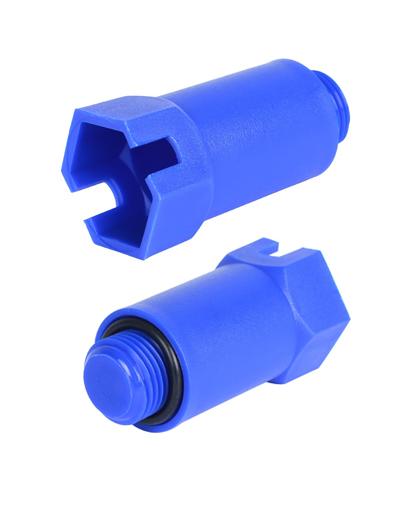 Купить Пробка длинная 1/2, красная PEX трубы STOUT (синяя) можно в интернет магазине pprcshop.ru по отличной цене, доставка, самовывоз