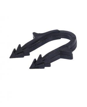 Купить скоба якорная для труб теплого пола 16-20 мм с двойным креплением (черная) можно в интернет магазине pprcshop.ru по отличной цене