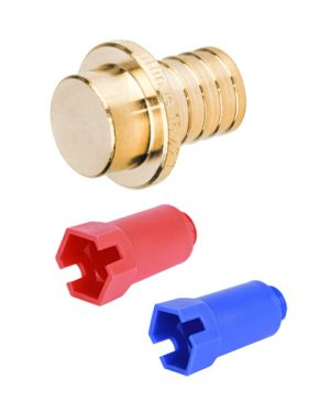 Заглушки и пробки для PEX трубы