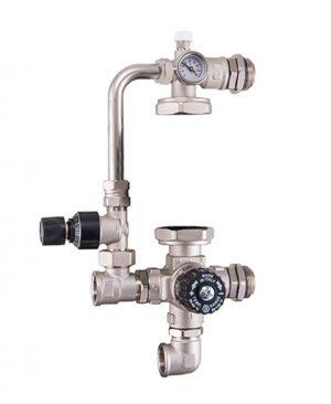 Купить Насосно-смесительный узел с термостатическим клапаном и байпасом (без насоса) можно в магазине pprcshop.ru по отличной цене