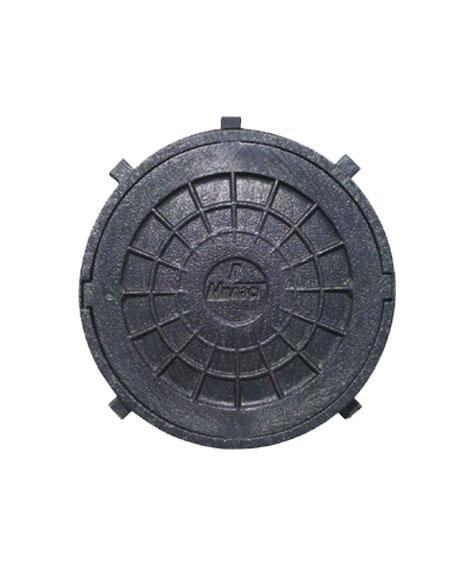 Люк полимерный 750х630 (круглый, h=90)